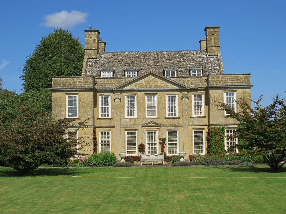 The House from the Main Lawn