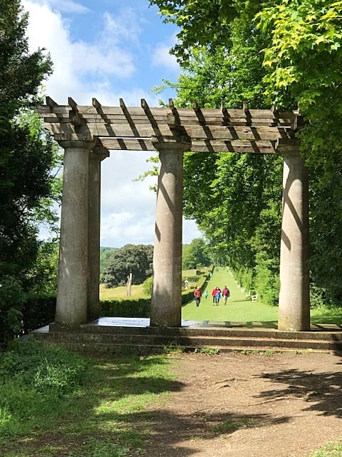 The Pergola to the Long Walk