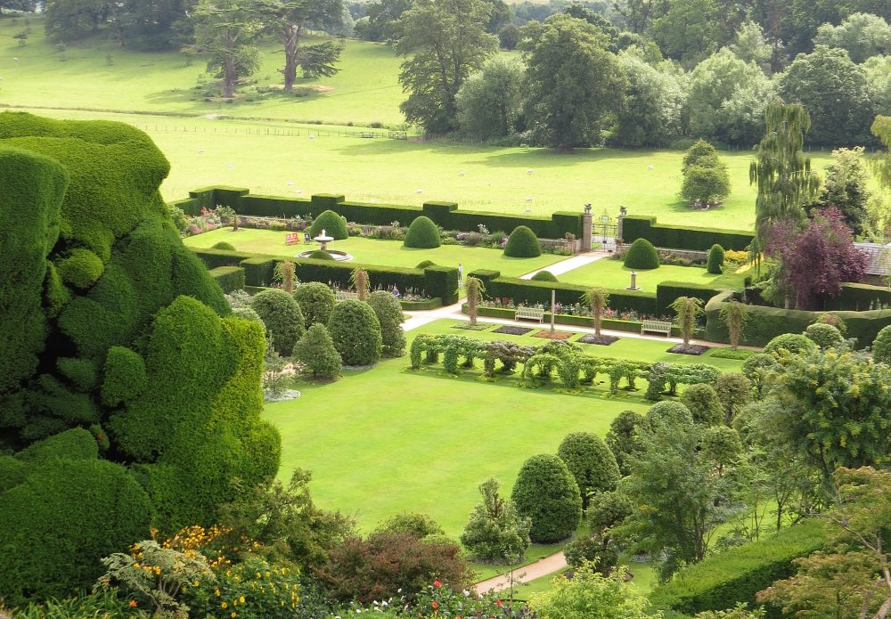 The Formal and Fountain Gardens