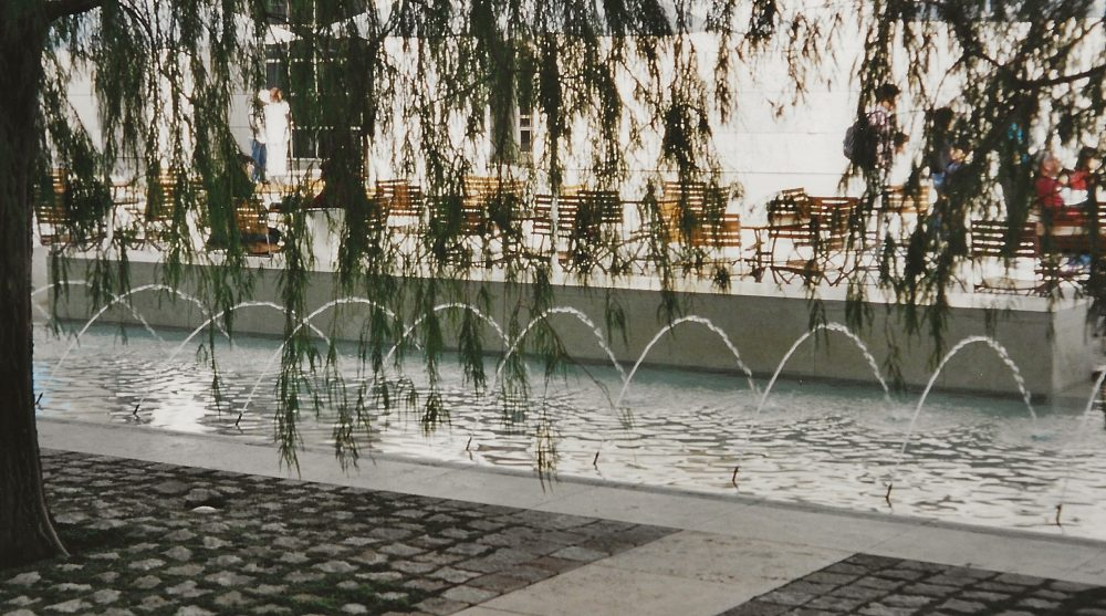 Museum Courtyard Water Feature